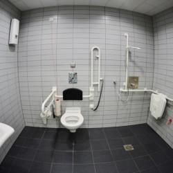 Toilette oder Seminarraum?