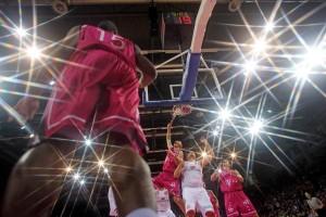 Eine andere Perspektive beim Basketball (c) Thomas Zimmermann