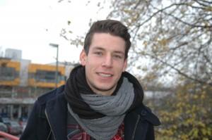 Lukas studiert Sport und Germanistik auf Lehramt.