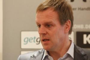 Bundestrainer Martin Heuberger will die deutschen Handballer zum Erfolg führen. Foto: Victor Fritzen