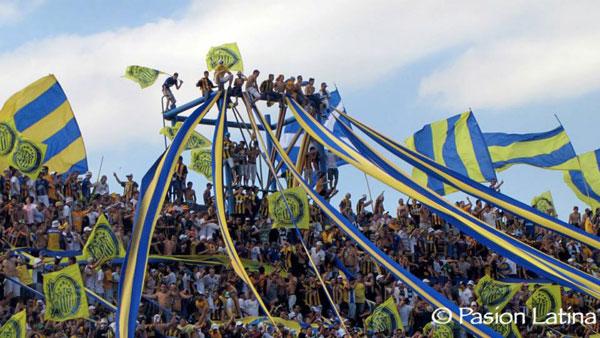 Argentinische Fans im Stadion
