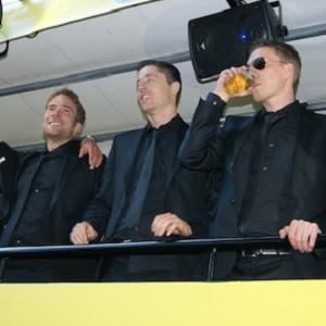 Seine letzte Meisterschaftsfeier mit dem BVB? Robert Lewandowski (M.) 2011. Foto: Anastasia Mehrend