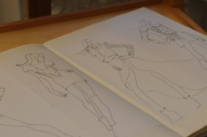 In ihrem Booklet hält Maike Ideen und Inspirationen fest.