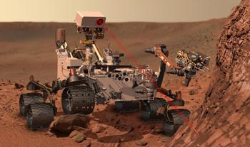 """NASA-Rover """"Curiosity"""" - Foto: NASA"""