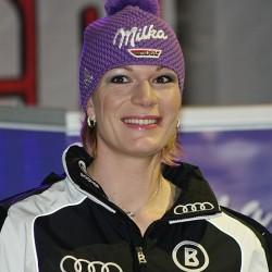 Alpin-Queen Maria Höfl-Riesch, einer der deutschen Stars in Sotschi. Sie holte Silber und Gold. Foto: Christian Jansky / Wikimedia Commons