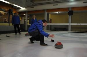 Meine erste Curling-Stunde. Fotos: