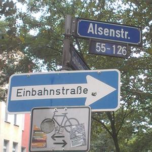 Die Alsenstraße in der Dortmunder Nordstadt. Foto: Tobias Dammers