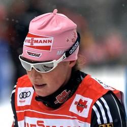 Der erste olympische Doping-Fall - ein deutscher: Neu-Biathletin Evi Sachenbacher-Stehle, hier noch als Langläuferin bei der Tour de Ski, wird positiv auf das Stimulanzmittel Methylhexanamin getestet. Foto: Iso76 / Wikimedia Commons