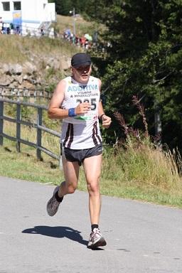 Die große Stärke von Richard Langenbahn ist das Laufen.