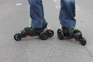 Ein Mix aus Inline Skates und Rollschuhen: Die Cardiff Skaters kommen in diesem Jahr als US-Trend nach Deutschland. Für den Durchbruch sind sie aber wohl zu teuer.
