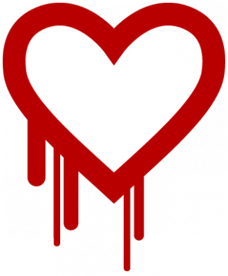 """""""Heartbleed"""" ist der Name eines folgenschweren Codierfehlers im OpenSSL. Bild: heartbleed.com"""