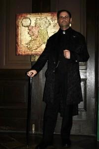 Mirko Schroeder in seiner Rolle als Bösewicht Kieron. Foto: Mirko Schroeder
