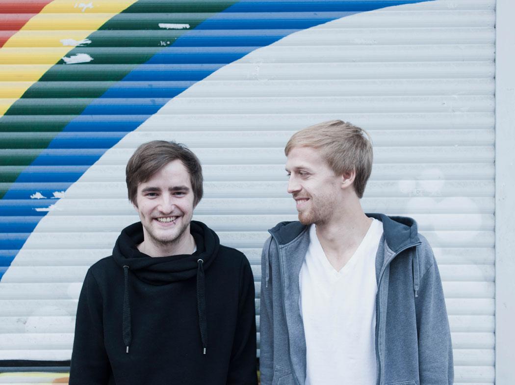 topfvollgold: Mats Schönauer (links) und Moritz Tschermak (rechts)