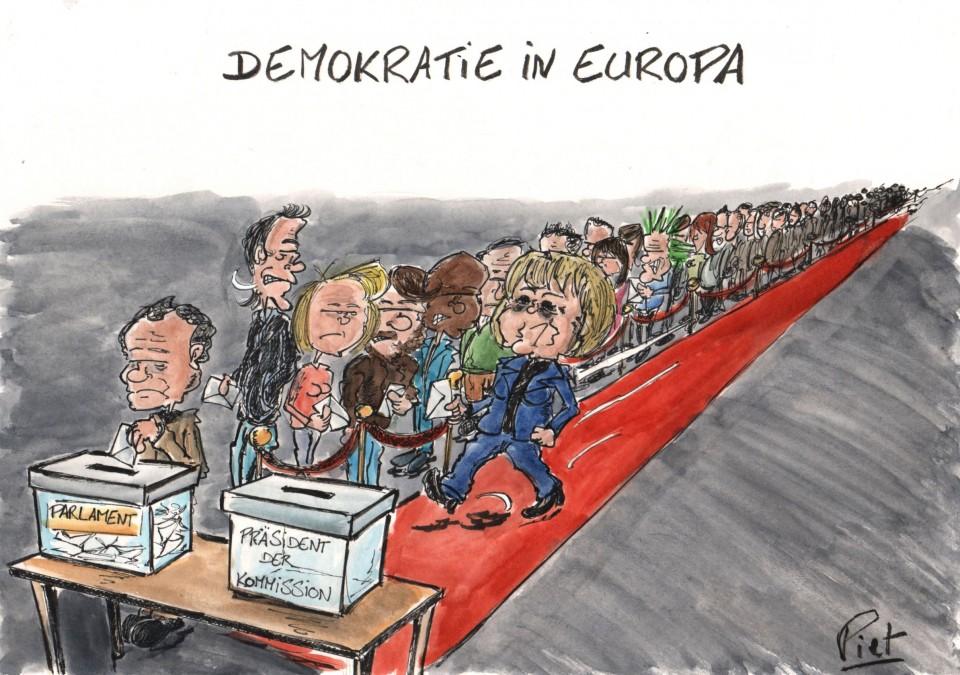 Demokratie Europa réduit