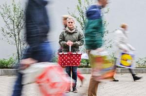 Unsere Reporterin Nora Wanzke hat versucht beim Einkaufen auf Müll zu verzichten. Foto und Teaserbild: Valentin Dornis