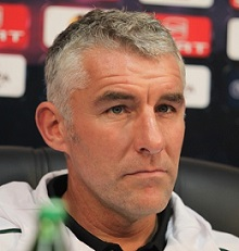 Mirko Slomka: Auswärts die ganze Saison ohne Punkte. Foto: Oleg Dubyna / Wikimedia Commons