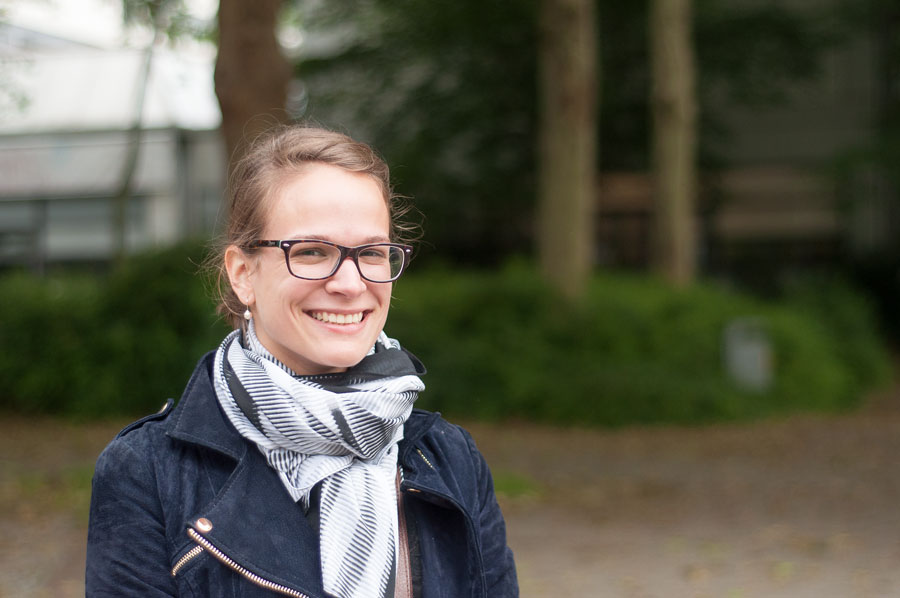 Annika Hogrebe war letztes Jahr auf dem Holi-Festival in Dortmund. Foto: Andrea Böhnke
