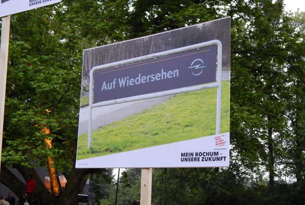 Ende 2014 wird in Bochum der letzte Opel vom Band laufen. Foto: Philipp Rentsch