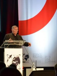 Jan Gehl hielt einen Vortrag zum Thema lebenswerte Städte und Stadtplanung.