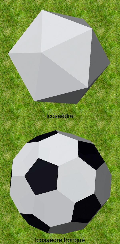 Mit dem Software KaleidoTile kann man eine Fußball machen. Foto: Pierre-Jean Guéno