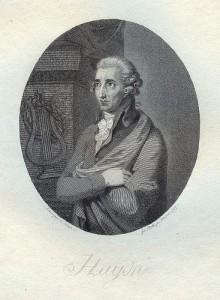 Joseph Haydn komponierte die Melodie der deutschen Nationalhymne.