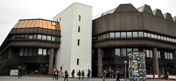 Außenschuss der Dortmund Universitätsbibliothek