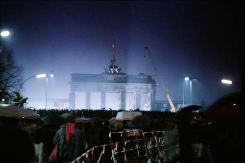 Mauer Brandenburger Tor