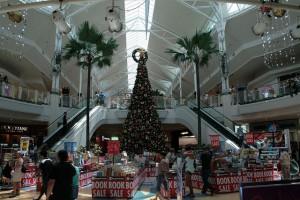 Weihnachtlich geschmückte Mall in Australien. Foto: Flickr/frank