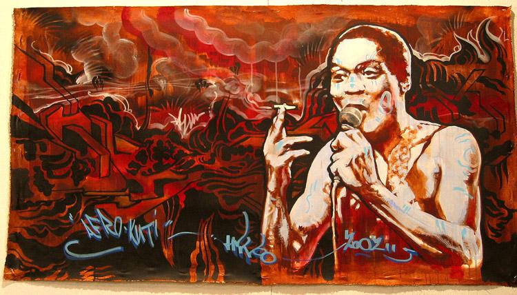 Grafitti Fela Kuti