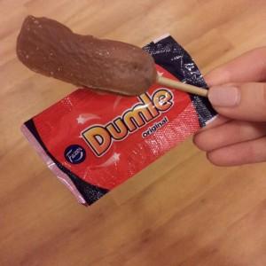 """""""Dumle"""", der dänische Lutscher aus Schweden. Foto: Bettina Ansorge"""