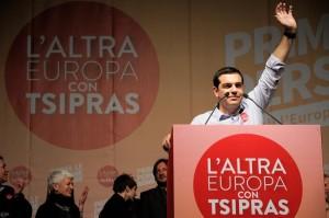 Alexis Tsipras ist der große Hoffnungsträger der Griechen. Foto: Leonidas Exuzidis