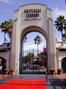 Der Eingang der Universal-Studios in Hollywood.