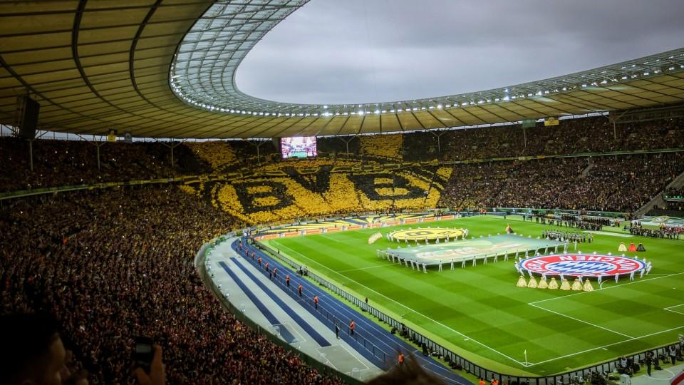 Stadionatmosphäre vor dem letztjährigen Pokalfinale. Foto: Flickr.com/Kai