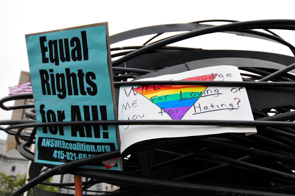 """""""Will Jesus judge me for loving or you for hating?"""" - Eine ethische Debatte um die Legalisierung von gleichgeschlechtlichen Ehen in den USA"""