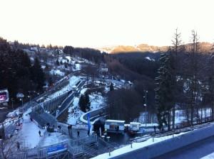 Die Bobbahn in Winterberg ist Pablos Heimbahn. Foto: Mia Küsters