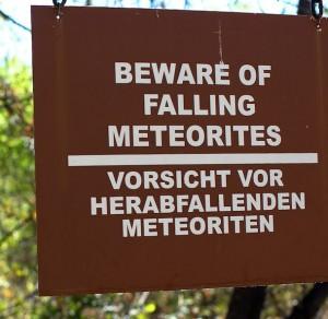 Bisher haben Meteoriten weltweit kein einziges menschliches Opfer gefordert. Foto: flickr/Hilarious Hilario