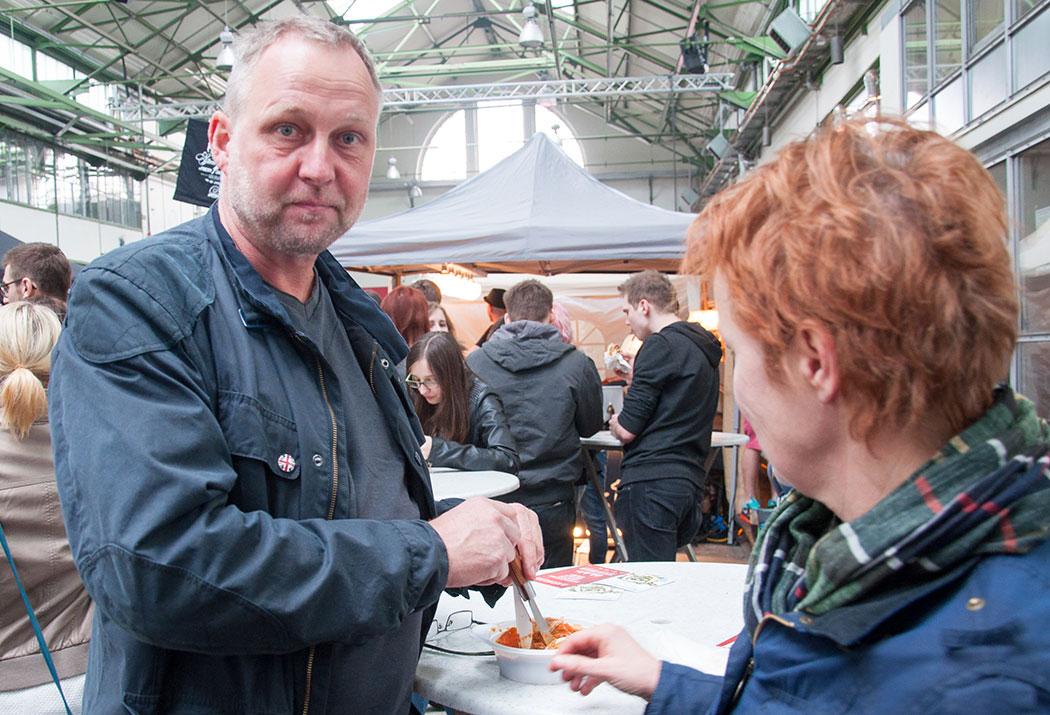 Die Festival-Besucher Peter und Ulla.