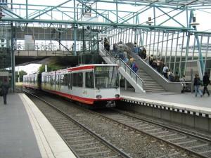 Die Seilbahn soll vor allem das Schienennetz der Campuslinie U35 entlasten. (Foto: Wikimedia Commons)