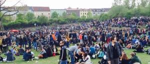 Der Görlitzer Park am 1. Mai