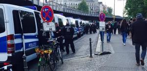 Der Polizei-Einsatz am 1. Mai