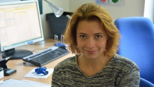 Natalia Smilowski arbeitet an der LWL-Klinik als Psychologin.