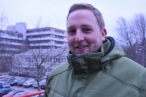 Aaron Schmidt, 27, Sozialpädagogik u Theologie