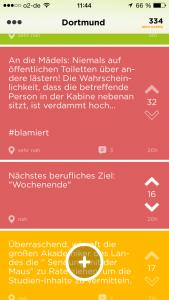 Jodel von der TU Dortmund.