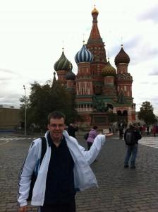 Michal Perlinski reist gern, um sich die Sprache eines Landes so noch besser anzueignen.