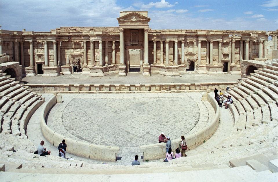 Theater Palmyra Jerzy Strzelecki