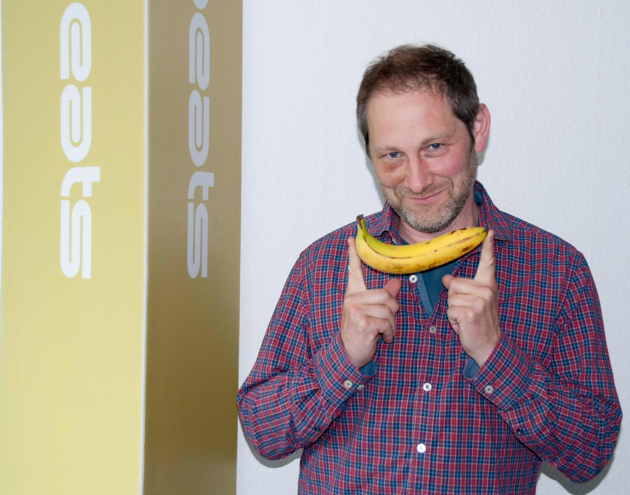 Banana-Smile Foto: Johanna Mack