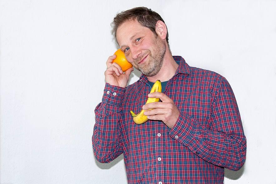 Orange an Banane! Foto: Johanna Mack