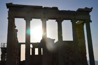 Griechenland ist nun faktisch zahlungsunfähig. Der Volksentscheid am kommenden Sonntag wird die Zukunft des Landes entscheiden. Foto: Ildiko Holderer