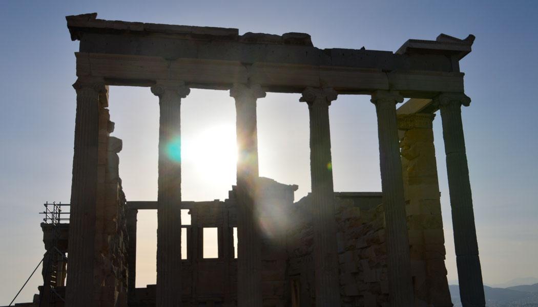 Griechenland ist nun faktisch zahlungsunfähig. Der Volksentscheid zu den Sparreformen am kommenden Sonntag wird die Zukunft des Landes entscheiden. Foto: Ildiko Holderer