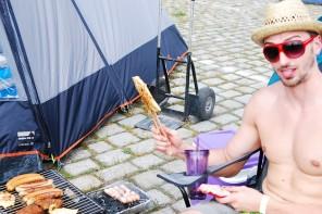 Festival-Leckereien vs. Camping-Delikatessen